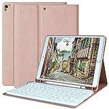 AMZCASE Custodia con Tastiera per iPad 10.2 per iPad 8a Generazione 2020 - iPad 7a Generazione...