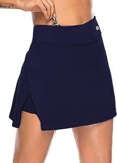 Women's Athletic Skort with Pockets Running Tennis Golf Workout Skirt