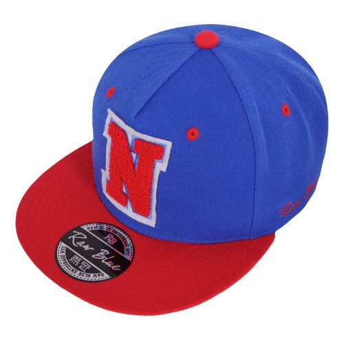Raw Blue Letterpatch-Snapback N Royal / Red