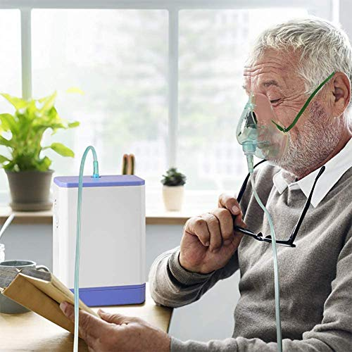 3L draagbare ventilator Oxygen Mobile USB Batterij Met Min Kleine oestel afneembare Oxygen Voor auto Outdoor 160 x 115 x 50 mm