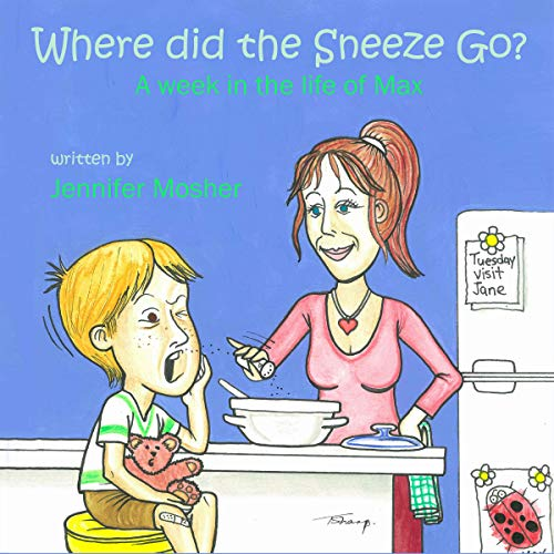 Where Did the Sneeze Go? audiobook cover art