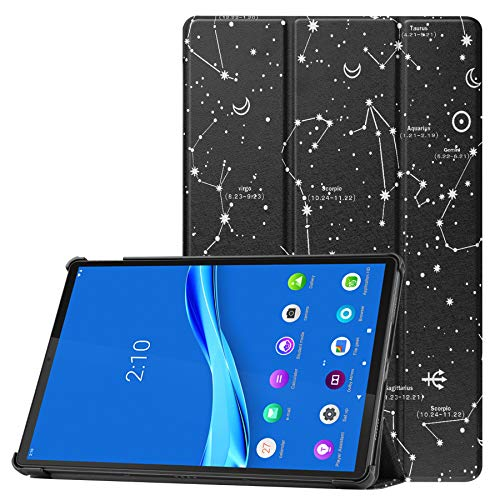 ZhaoCo Funda Protectora Compatible con Lenovo Tab P11 11 Pulgada Tableta 2020 (TB-J606F), Carcasa Ultra Delgado y Ligero, Constelación
