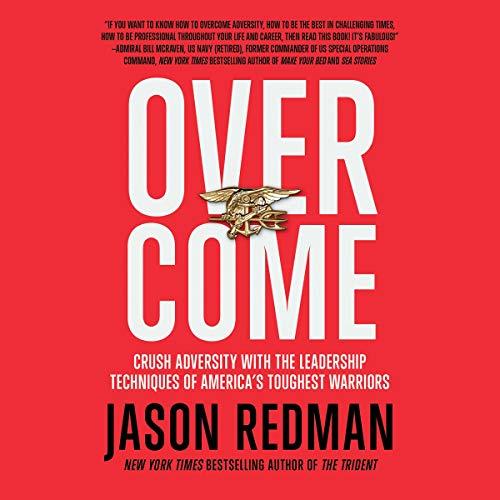 Overcome audiobook cover art