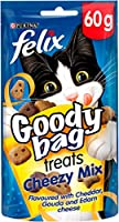 Share more loveably, mischievous moments with your cat with Felix Goody Bags – containing an irresistible, colourful mix of meaty treats that are full of enticing aromas, delicious flavours and fun shapes. Our specially formulated FELIX GOODY BAG Ori...