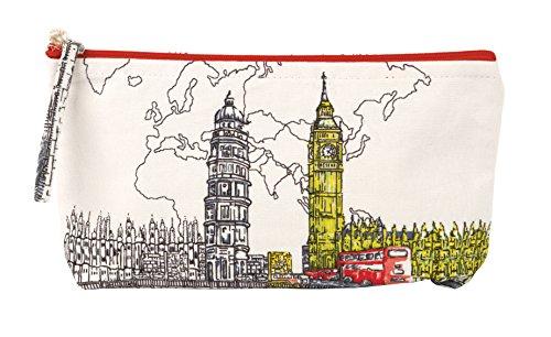 London Big Ben Handmade Pouch