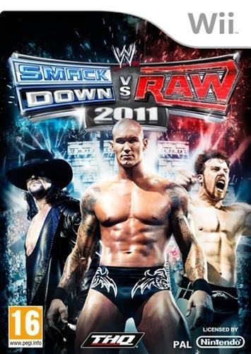 THQ WWE SmackDown vs. Raw 2011 - Juego (Nintendo Wii, Lucha, T (Teen))