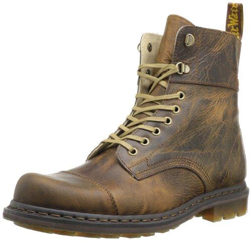 Hot Sale Dr. Martens Men's Gideon Boot,Tan Greenland,11 UK/12 M US
