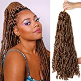 New Faux Locs Crochet Hair 24 Inch Synthetic Crochet Braided Hair Natural New...