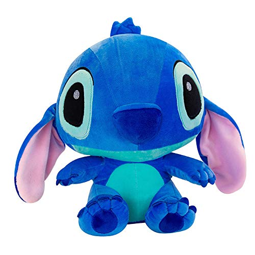 Pluche Cute Stitch Knuffel Grote Pop Slaapkussen Doll-blue_60cm