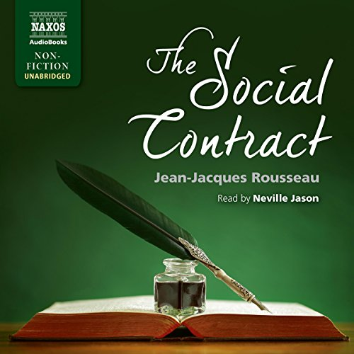 The Social Contract audiobook cover art