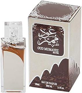 Oud Mumayez Silver by Lattafa for Men - Eau de Parfum, 100ml