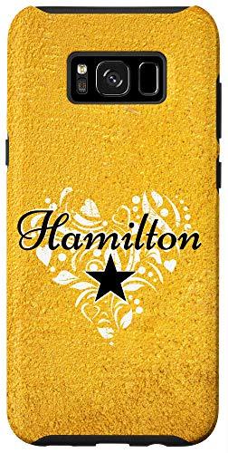 Galaxy S8+ I Love Hamilton Heart | Gift Merchandise for Teen Women Case
