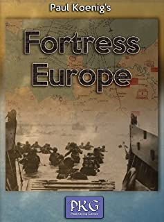 Paul Koenig's Fortress Europe - War Boxed Board Game