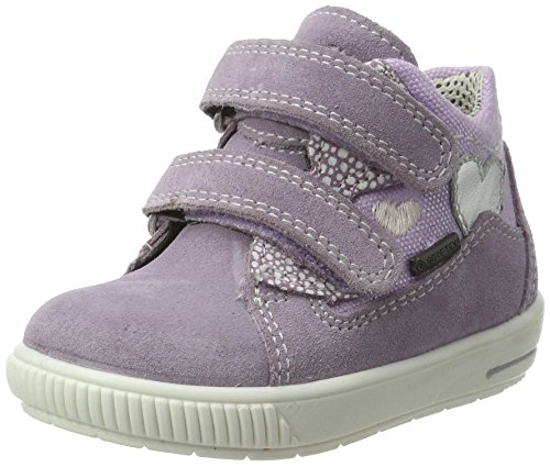 Superfit Mädchen Moppy Surround Sneaker, Violett (lila Kombi), 21 EU