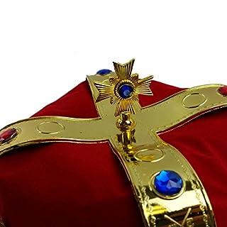 اسعار Funny Party Hats Royal Jeweled King's Crown - Costume Accessory