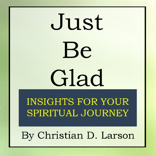 Just Be Glad audiobook cover art