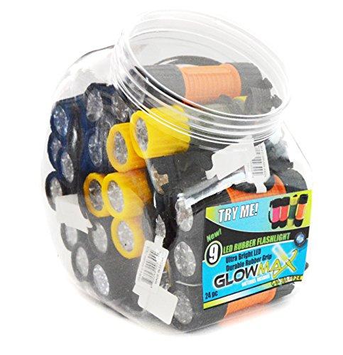GlowMax G-28WKLT-BP1 Magnetic 28 LED Work Light 12-Pack