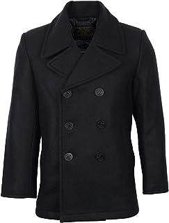 Mil-Tec Men's Us Navy Pea Coat Tuch Jacket