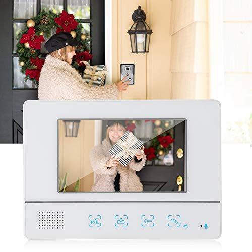 Sistema de videoportero, kits de timbre de videoportero, 25 timbres de timbre disponibles para villas familiares Edificios de oficinas Mejoras para el hogar Apartamentos(Transl)