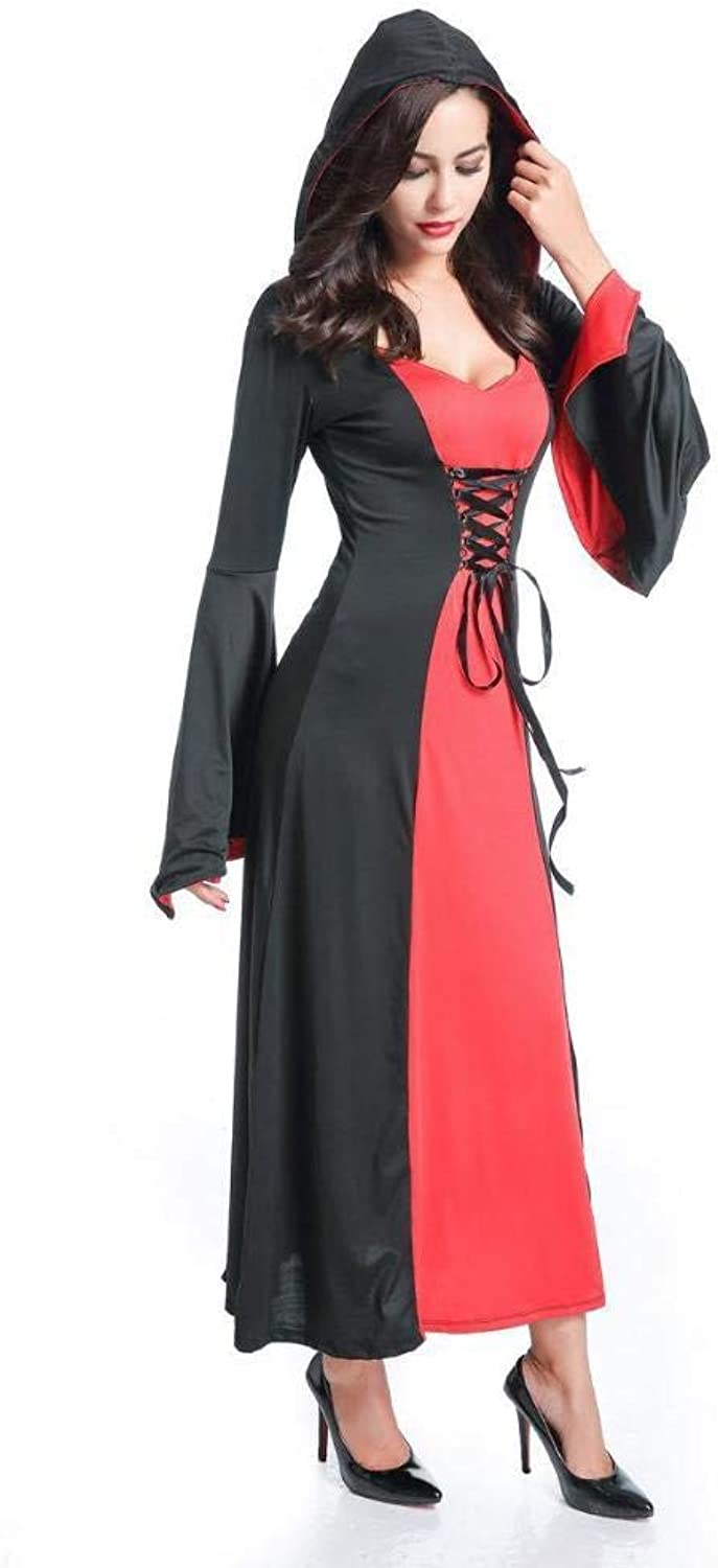 Olydmsky Halloween Costumes Women Halloween Adult Costume Female Witch Cosplay Costume Party Prom Costume