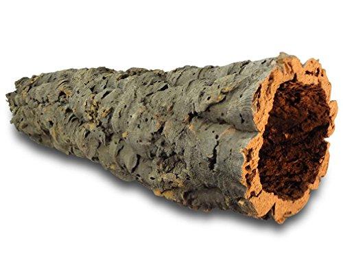 Kork-Deko XL Korkröhre   Korktunnel   Korkrinde   gereinigt & desinfiziert, ca. 60 cm, Ø = 11-14 cm