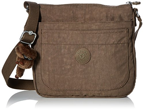 Kipling Women's Sebastian Crossbody Bag, Soft Earthy Bei