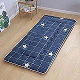 Japonés Dormir Tatami Estera De Meditación,Respirable Futón Tatami Colchón Pad Suave Delgada Piso Sleeping Pad para El...
