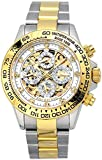 J.HARRISON(ジョンハリソン ) 自動巻きスケルトン 腕時計 JH003GW 石付き