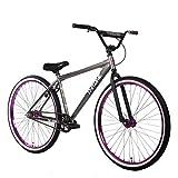THRONE CYCLES The Goon 29 inch Urban Street Bike (Gunmetal Purple)