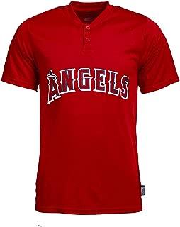 Majestic MLB Men's Cool Base Team Henley T-Shirts (Multiple Teams)