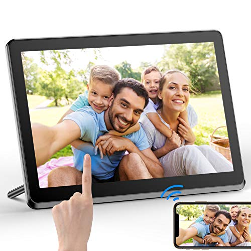 Digital Picture Frame 8 Inch WiFi Digital Photo Frame FHD 1920x1080 IPS Touch Display Screen 8GB Storage Share Photos via App,Email,Cloud from Anywhere Digital Frames Picture