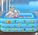 NBHUYT 150 Kinderbecken Badebecken Baby nach Hause aufblasbarer Platz Pool Kinder aufblasbarer Pool