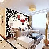 Wandbild Hintergrundbild Rote Laterne Fototapete Moderne Vlies Tapete Wandbilder 3D Wandtapete Wand Dekoration Für Kinderzimmer Schlafzimmer Schwarzer Freitag