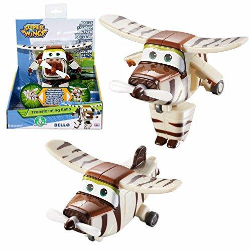 Super Wings Selección Transformación Aviones Transforming Airplane, Super Wings:Bello