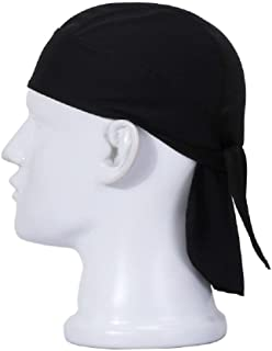 Doo Rags Skull Cap - Moisture Wicking Beanie Cap Sun UV Protection Motorcycle Helmet Liner Cap