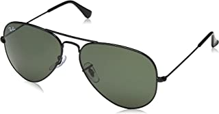 Ray-Ban Unisex-Adult 0RB3025 Classic Aviator Sunglasses
