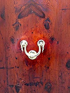 Home Comforts Art Nouveau Wood Handle Door Doorknocker Vivid Imagery Laminated Poster Print 24 x 36