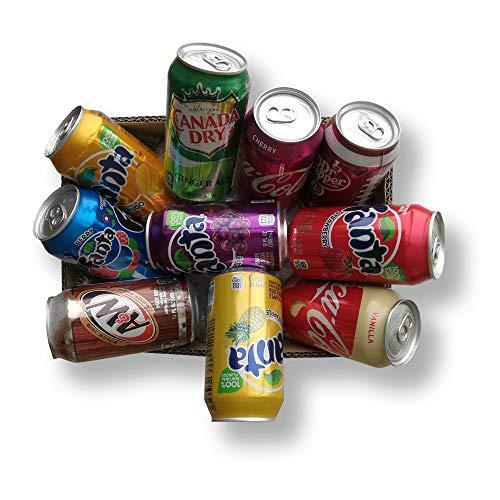 BEVANDE AMERICANE 10 BARATTOLI 355ML AMERICAN DRINK EXPERIENCE IDEA REGALO