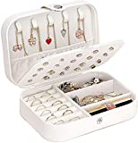 Caja Joyero Pequeña,Portátil Joyero Viaje Cajas para Joyas Jewelry Organizer para Mujer, para...