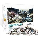DUANGONGZI Rompecabezas para Adultos 500 Piezas Warhammer Relax Jigsaw Puzzle Juegos de Rompecabezas para aliviar el estrés 52x38cm