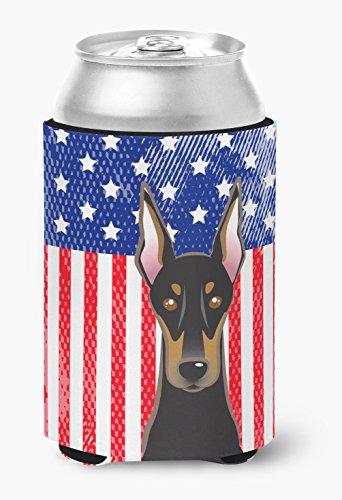Amerikanische Flagge & Rottweiler, kann oder Flasche Hugger bb2175cc