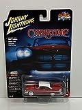 Johnny Lightning Christine 1958 Plymouth Fury (versión diurna) cuerpo rojo con techo blanco