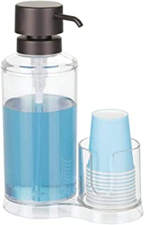 Best mouthwash dispenser with cup holder Reviews
