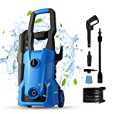 [Upgraded Version] Electric Pressure Washer 3000PSI, 1600W Portable Power Washer, 2.4 GPM IPX5 Car Washer Machine with Adjustable Spray Nozzle, Soap Tank(US Stock)