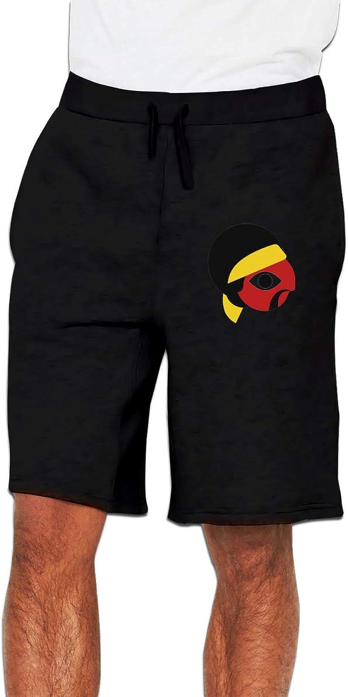 Zinmmerm Men's Casual IconicIconsJimiHendrix Sweat Shorts
