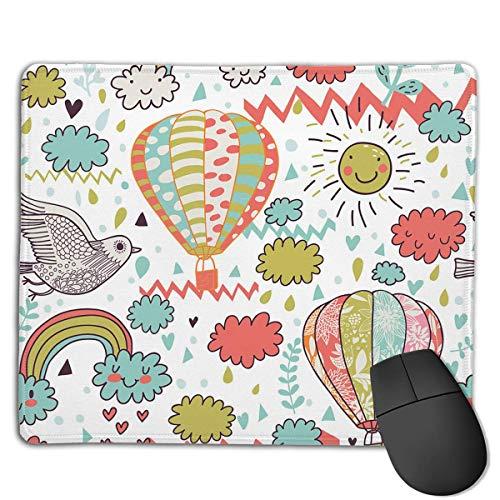 Alfombrilla de ratón Hot Air Ballon Sunshine Rectangle Mousepad Antideslizante Gaming Mouse Pad...