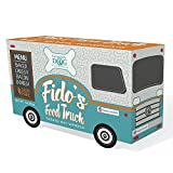 Exclusively Pet 9000 Fido's Food Truck Dog Treats, Small