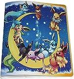 Álbumes Compatible con Cartas Pokemon, Carpeta Compatible con Cartas de Pokémon, Álbum Titular Compatible con Cartas Pokémon, 18 páginas con capacidad para 324 cartas (324-Elf Baby)