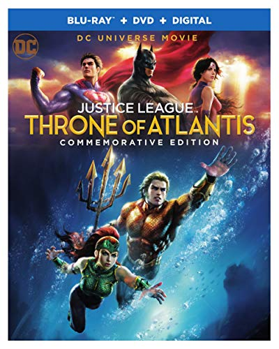DCU Justice League: Throne of Atlantis Commemorative Edition (BD) [Blu-ray]