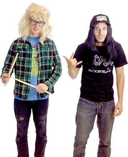 TV Store Wayne's World Garth And Wayne Kostüm Set